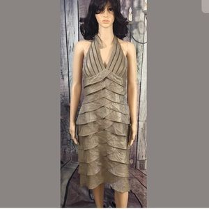 Size 10 Cache Tiered Dress